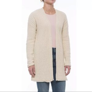 Tahari Oversized Long Cardigan Sweater -Open Front